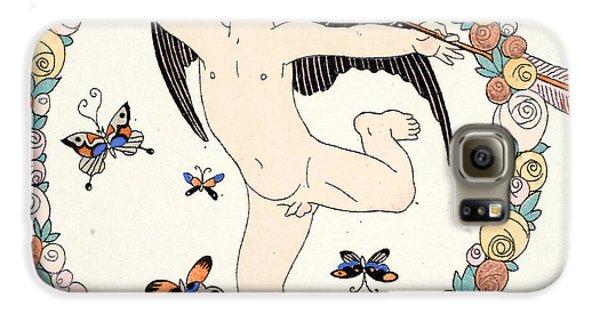 Boy George Galaxy S6 Case - Cupid by Georges Barbier