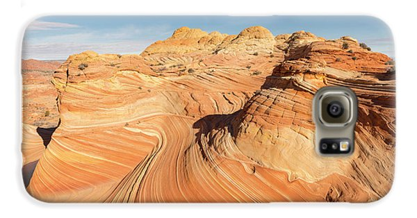 Curves Into Waves Galaxy S6 Case by Tim Grams