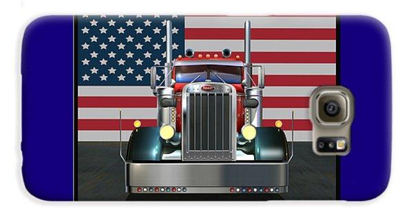 Truck Galaxy S6 Case - Custom Peterbilt 2 by Stuart Swartz