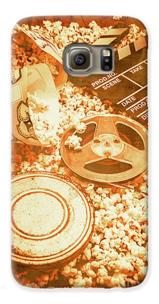 Cutting A Scene Of Vintage Film Galaxy S6 Case by Jorgo Photography - Wall Art Gallery