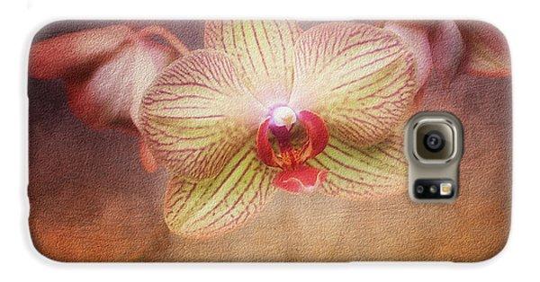 Orchid Galaxy S6 Case - Cymbidium Orchid by Tom Mc Nemar