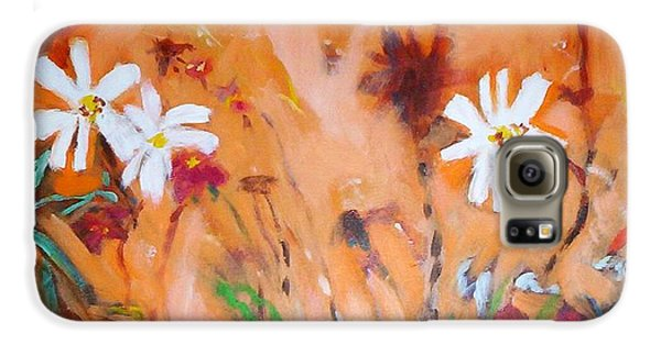 Daisies Along The Fence Galaxy S6 Case