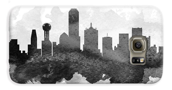 Dallas Cityscape 11 Galaxy S6 Case by Aged Pixel