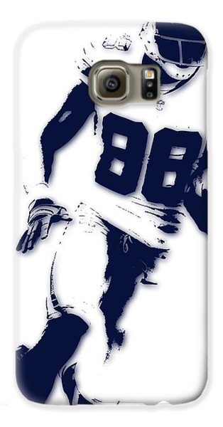 Dallas Cowboys Dez Bryant Galaxy S6 Case by Joe Hamilton