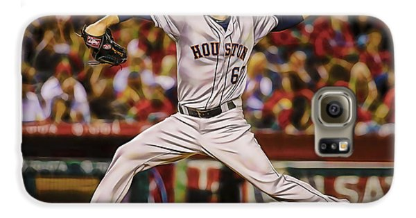 Dallas Keuchel Baseball Galaxy S6 Case