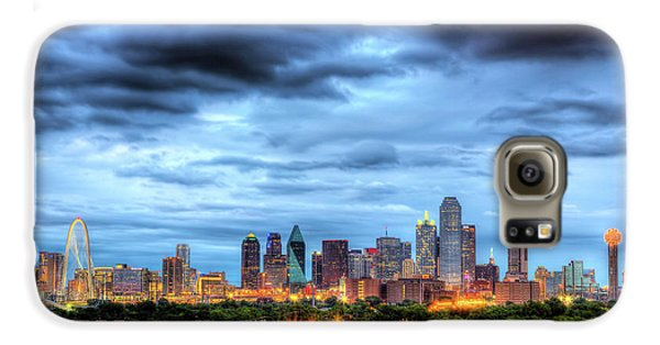 Dallas Skyline Galaxy S6 Case by Shawn Everhart