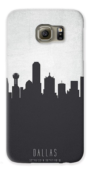 Dallas Texas Cityscape 19 Galaxy S6 Case by Aged Pixel
