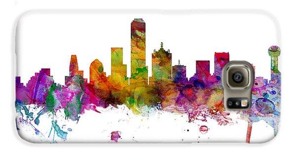 Dallas Texas Skyline Panoramic Galaxy S6 Case