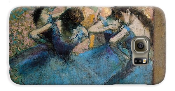 Dancers In Blue Galaxy S6 Case