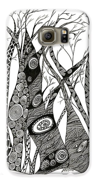 Dancing Trees Galaxy S6 Case