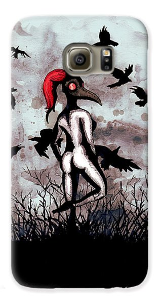 Doctor Galaxy S6 Case - Dancing With Crows by Ludwig Van Bacon