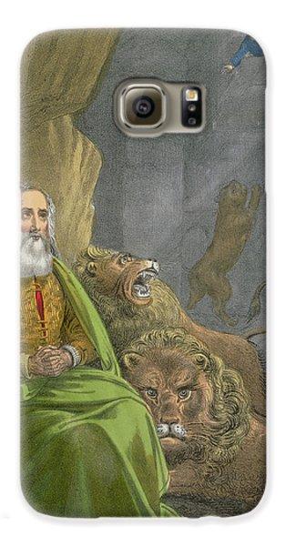 Dungeon Galaxy S6 Case - Daniel In The Lions' Den by Siegfried Detler Bendixen