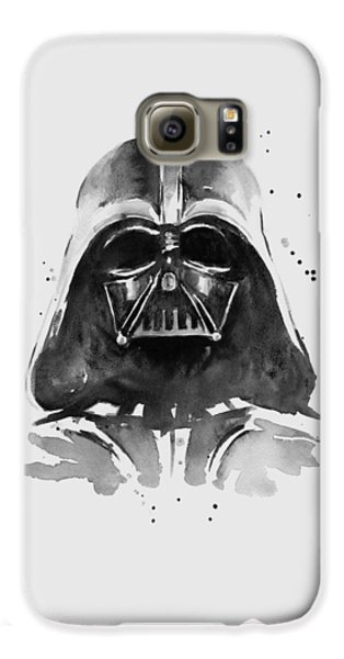 The White House Galaxy S6 Case - Darth Vader Watercolor by Olga Shvartsur