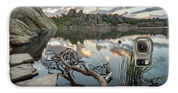 Galaxy S6 Case featuring the photograph Dawn At Sylvan Lake by Adam Romanowicz