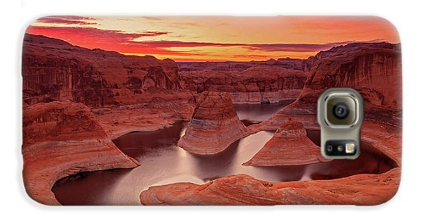 Dawn Sky Above Reflection Canyon. Galaxy S6 Case by Johnny Adolphson