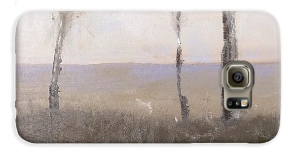 Galaxy S6 Case featuring the painting Day Break by Patti Ferron