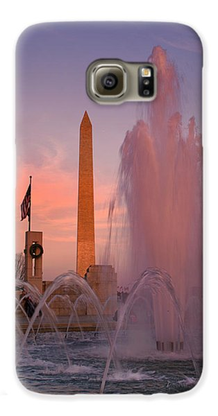 Dc Sunset Galaxy S6 Case by Betsy Knapp