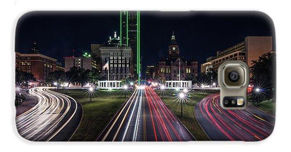 Dealey Plaza Dallas At Night Galaxy S6 Case