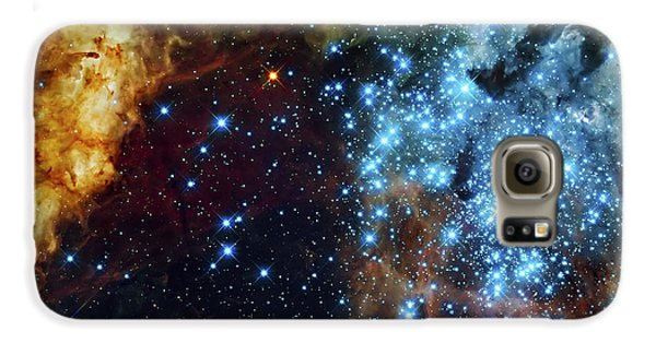 Space Galaxy S6 Case - Deep Space Fire And Ice 2 by Jennifer Rondinelli Reilly - Fine Art Photography