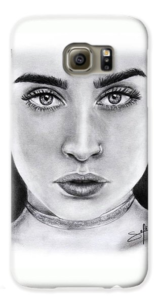 Lauren Jauregui Drawing By Sofia Furniel  Galaxy S6 Case