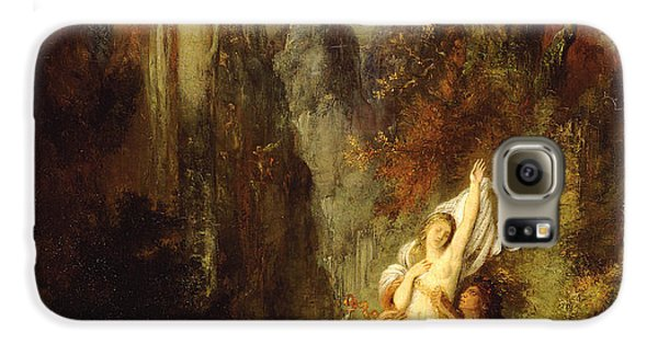 Dejanira  Autumn Galaxy S6 Case by Gustave Moreau