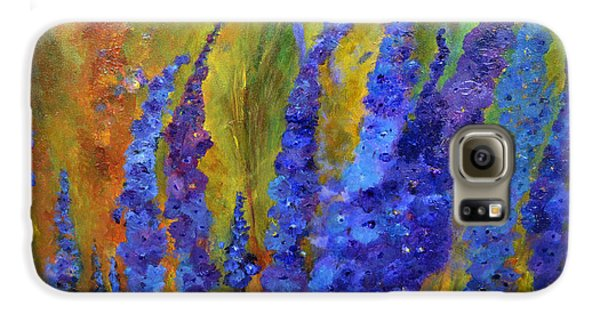 Delphiniums Galaxy S6 Case
