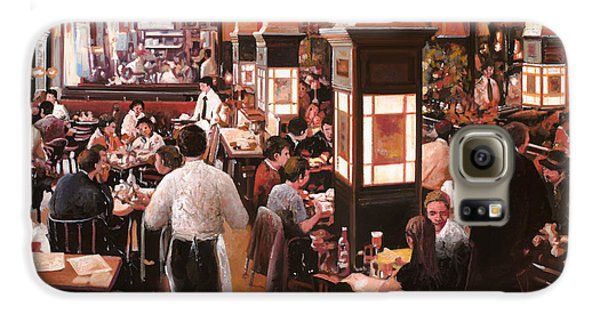 Food And Beverage Galaxy S6 Case - Dentro Il Caffe by Guido Borelli