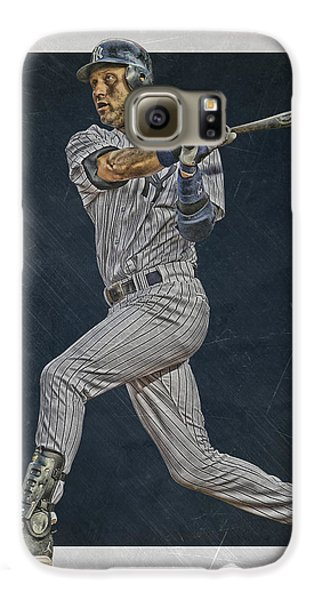 Derek Jeter New York Yankees Art 2 Galaxy S6 Case