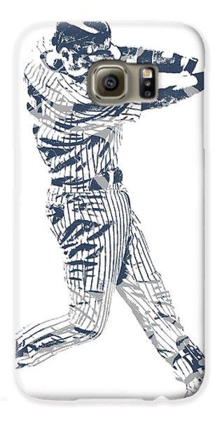 Derek Jeter New York Yankees Pixel Art 10 Galaxy S6 Case