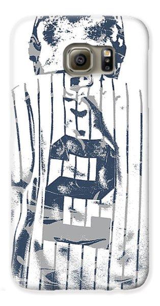 Derek Jeter New York Yankees Pixel Art 11 Galaxy S6 Case