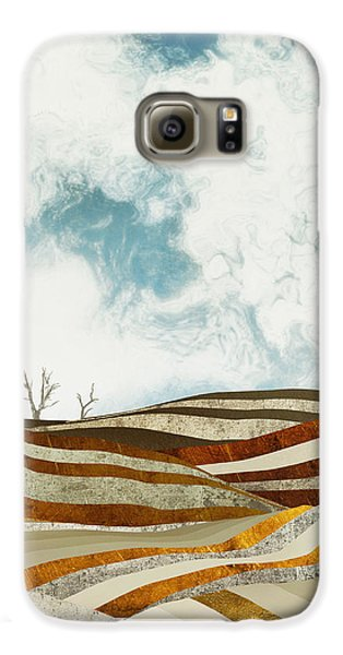 Landscapes Galaxy S6 Case - Desert Calm by Spacefrog Designs