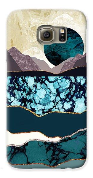 Landscapes Galaxy S6 Case - Desert Lake by Katherine Smit