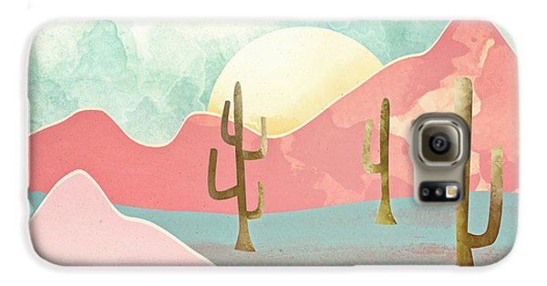 Landscapes Galaxy S6 Case - Desert Mountains by Spacefrog Designs