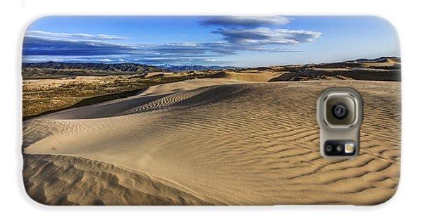 Mountain Sunset Galaxy S6 Case - Desert Texture by Chad Dutson