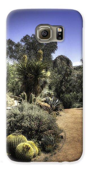 Desert Walkway Galaxy S6 Case by Lynn Geoffroy