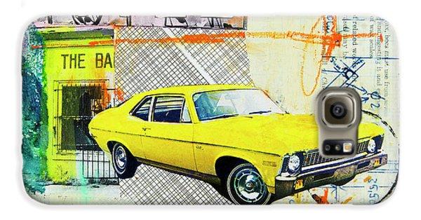 Automobile Galaxy S6 Case - Destination Paradise by Elena Nosyreva