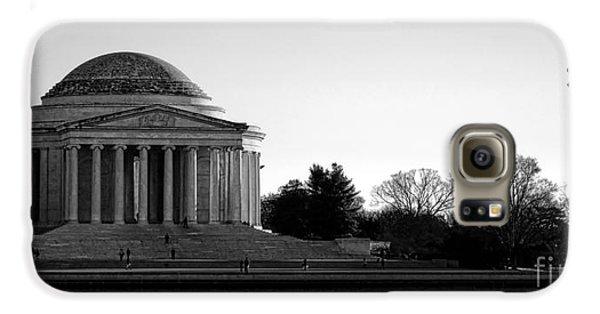 Jefferson Memorial Galaxy S6 Case - Destination Washington  by Olivier Le Queinec