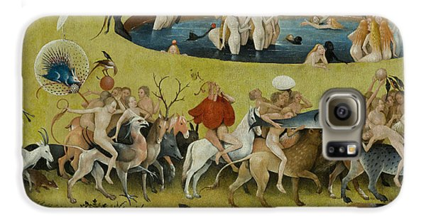 Detail From The Central Panel Of The Garden Of Earthly Delights Galaxy S6 Case