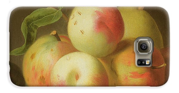 Detail Of Apples On A Shelf Galaxy S6 Case