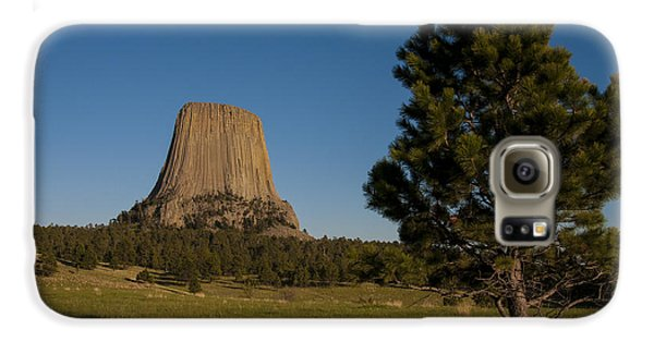 Galaxy S6 Case featuring the photograph Devil's Tower by Gary Lengyel