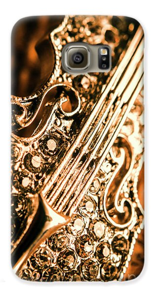 Violin Galaxy S6 Case - Diamond Ensemble by Jorgo Photography - Wall Art Gallery