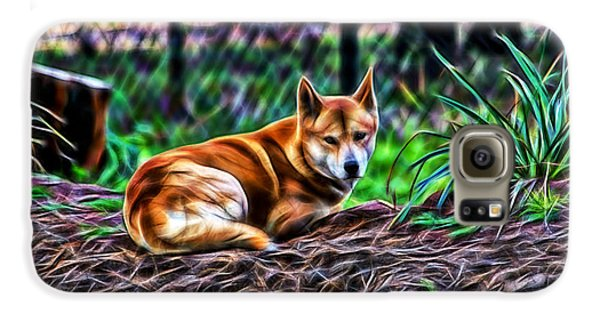 Dingo From Ozz Galaxy S6 Case by Miroslava Jurcik