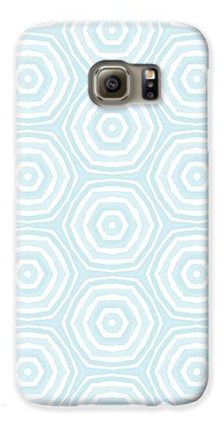 Beach Galaxy S6 Case - Dip In The Pool -  Pattern Art By Linda Woods by Linda Woods