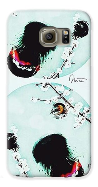 Dog Blossoms  Galaxy S6 Case