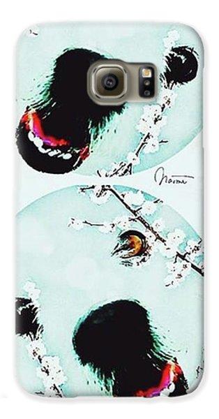 Galaxy S6 Case - Dog Blossoms  by Naomi Ibuki