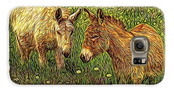 Donkey Confidential Galaxy S6 Case by Joel Bruce Wallach