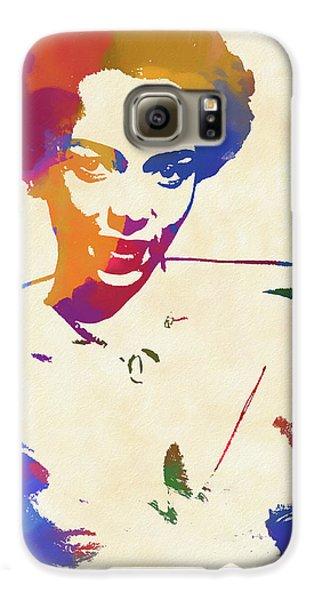 Apollo Theater Galaxy S6 Case - Dorothy Dandridge Watercolor by Dan Sproul