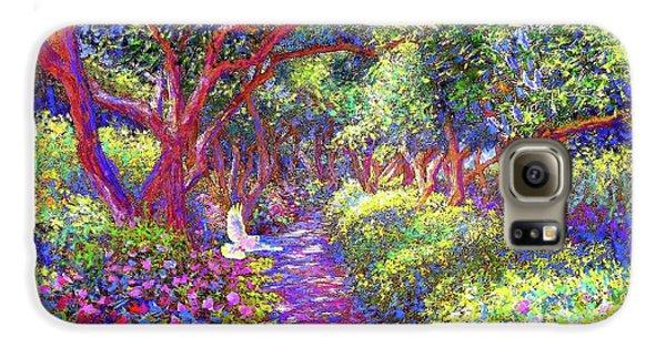 Dove And Healing Garden Galaxy S6 Case