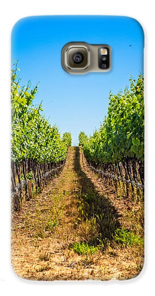 Down The Row Galaxy S6 Case by Kim Wilson