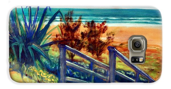 Down The Stairs To The Beach Galaxy S6 Case